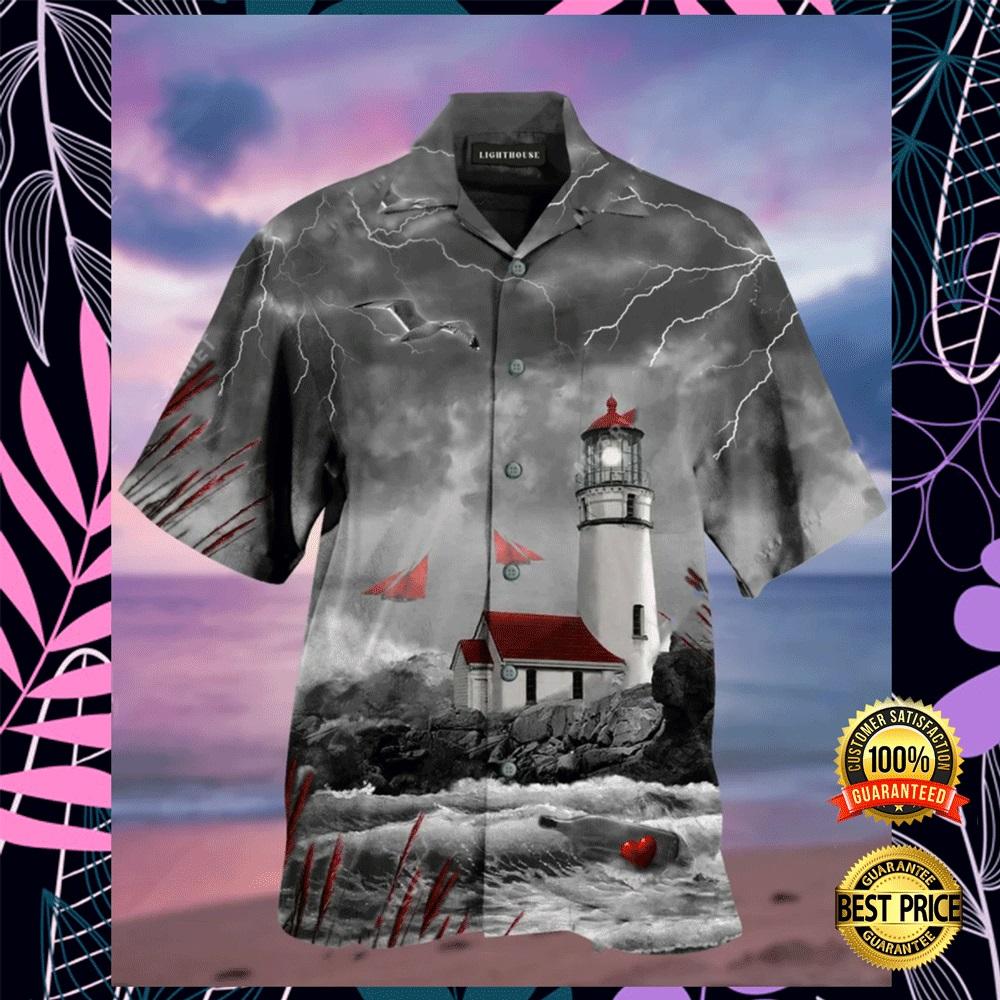 Lighthouse hawaiian shirt2