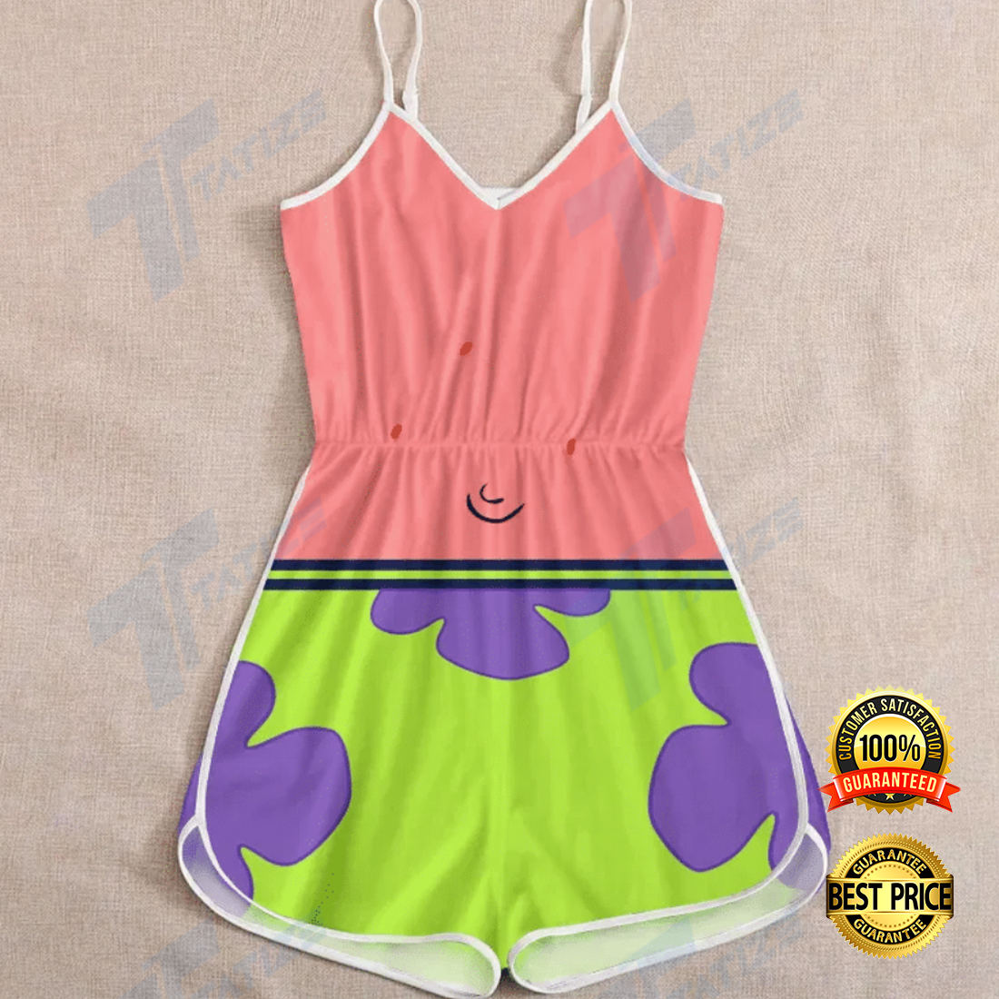 Patrick Star outfit romper 4
