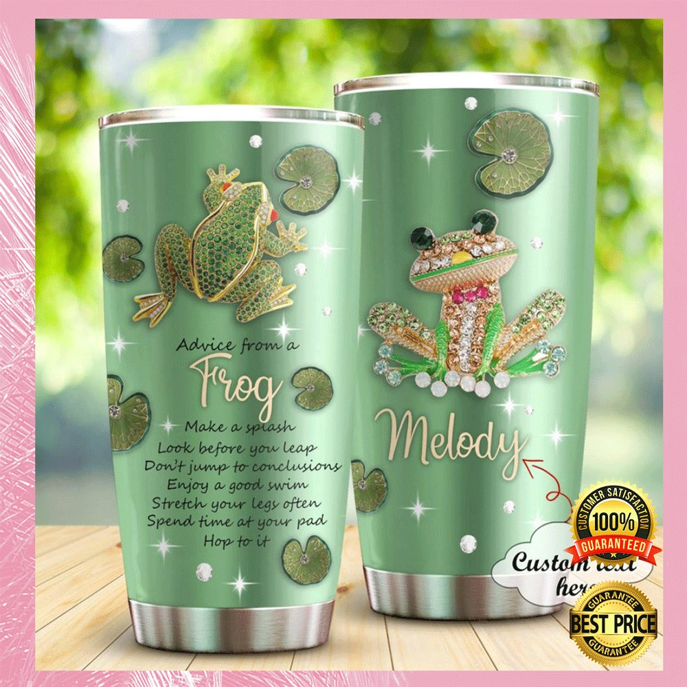 Personalized advice from a frog tumbler1 1