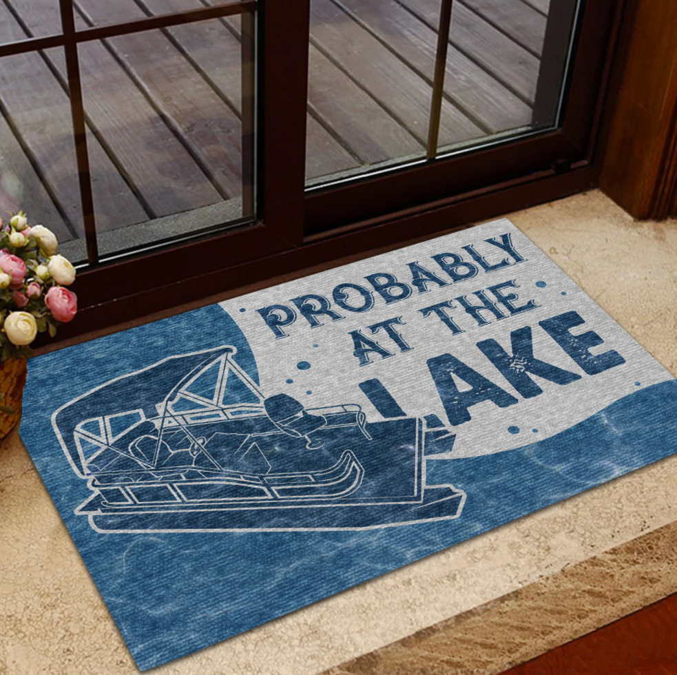 Probably at the lake doormat 1