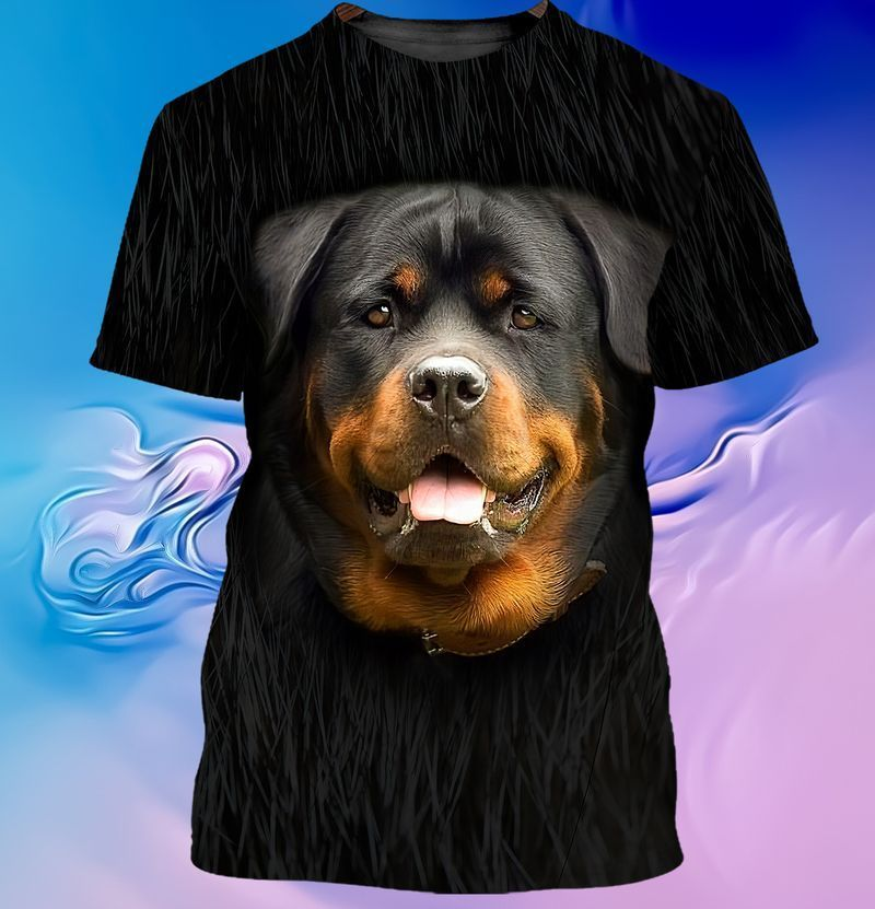 Rottweiler lover 3d full print hoodie and shirts 3