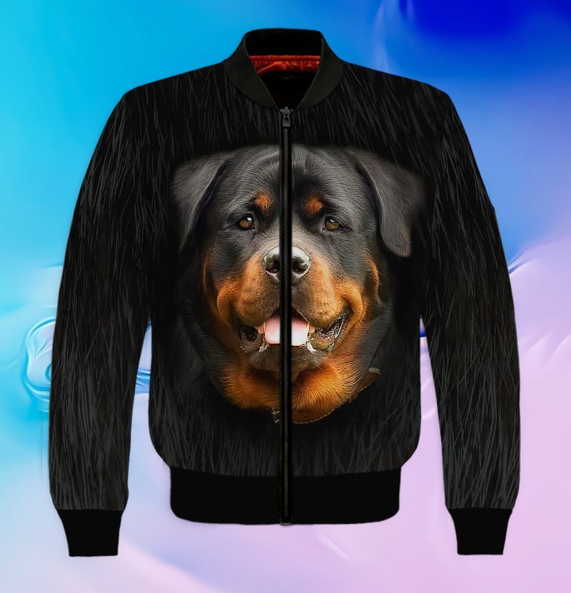 Rottweiler lover 3d full print hoodie and shirts 5