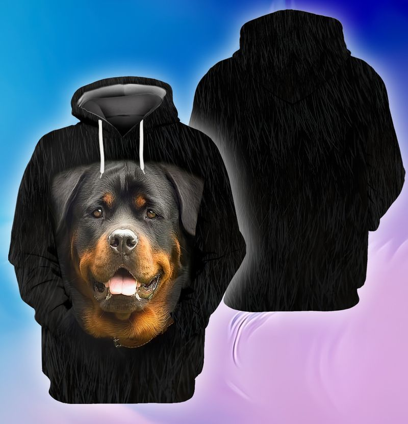 Rottweiler lover 3d full print hoodie and shirts