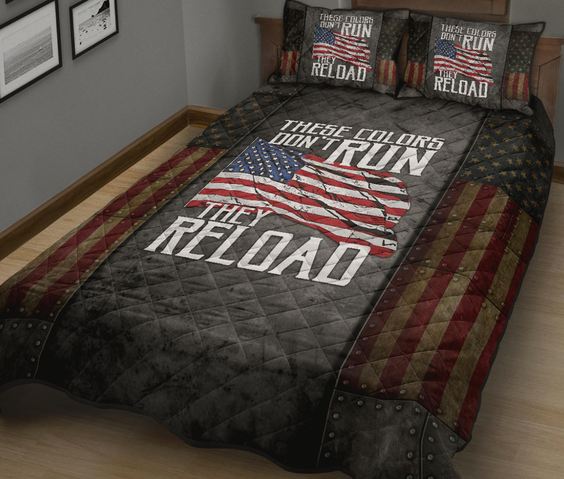 These colors don t run they reload bedding set 1