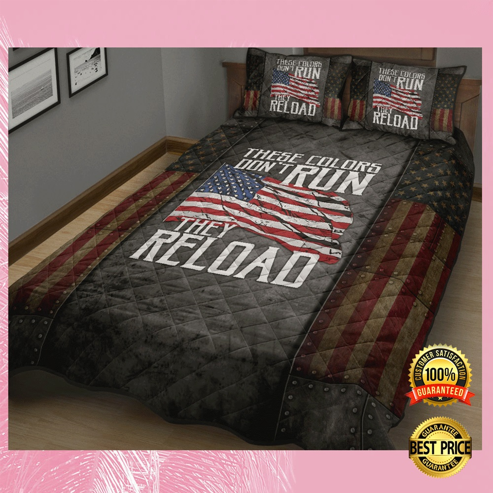 These colors dont run they reload bedding set1 1