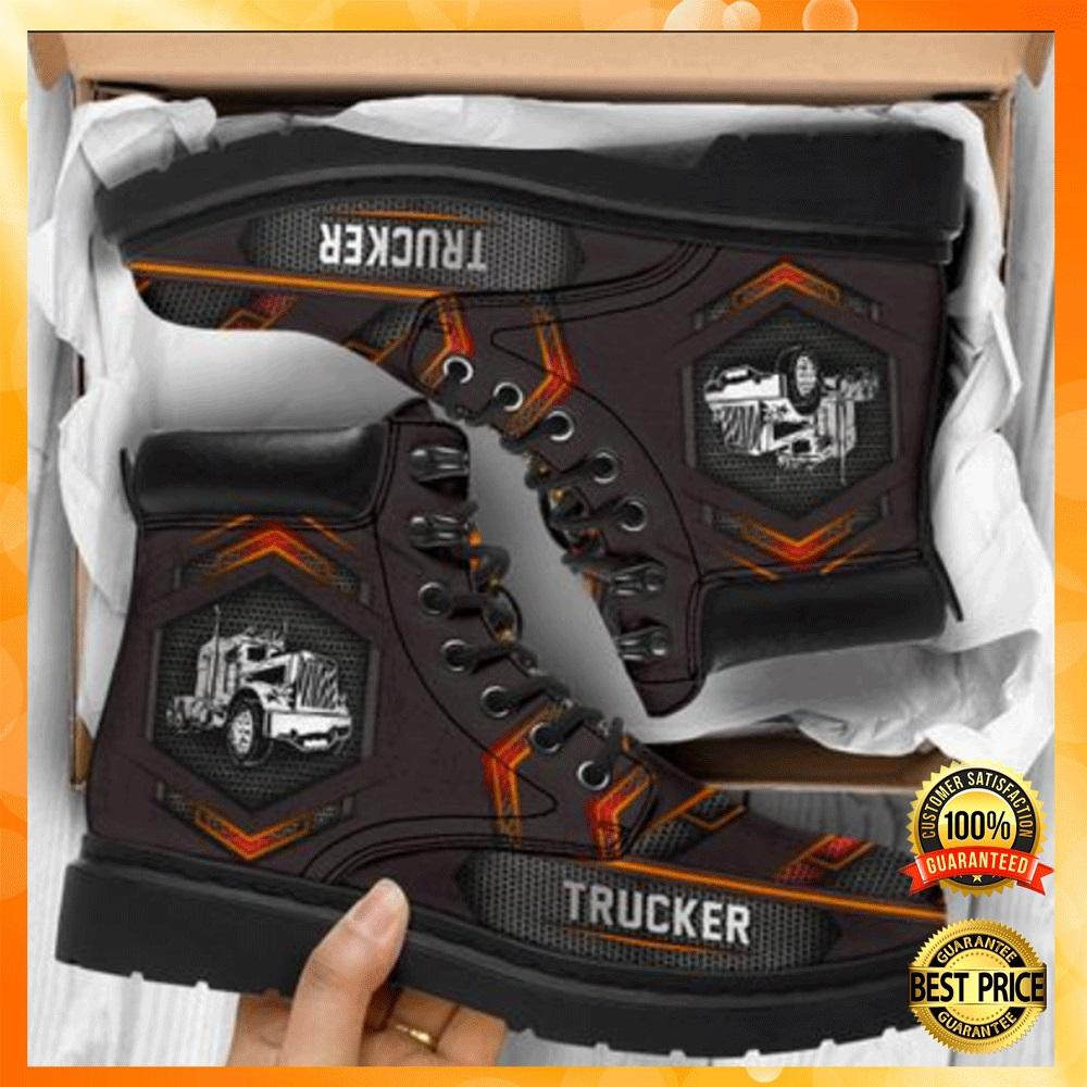 Trucker timberland boots1