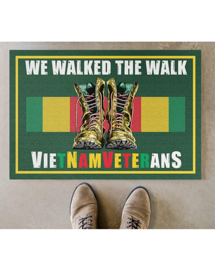 Vietnam veteran We walk the walks doormat Picture 2