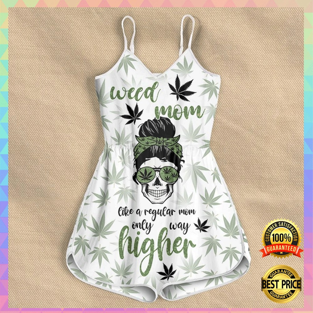 Weed mom like a regular mom only way higher romper2
