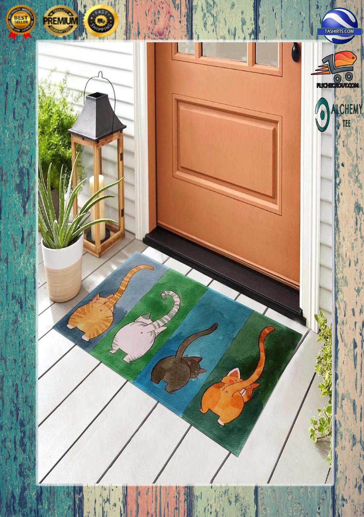 Big Ass Cats Welcome Doormat 1