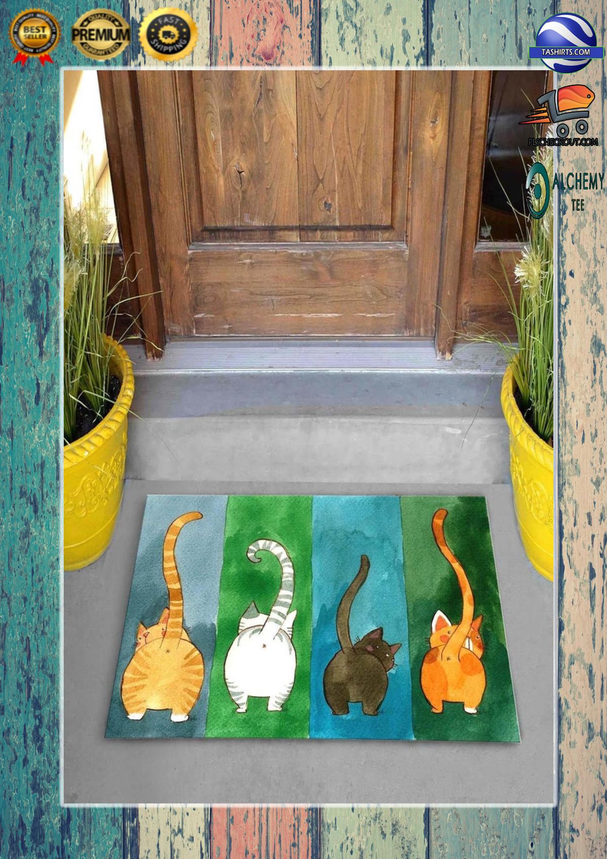 Big Ass Cats Welcome Doormat 2
