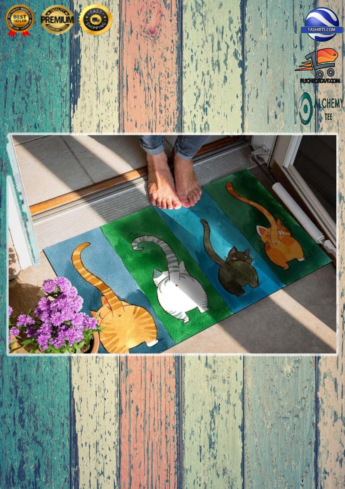 Big Ass Cats Welcome Doormat 3