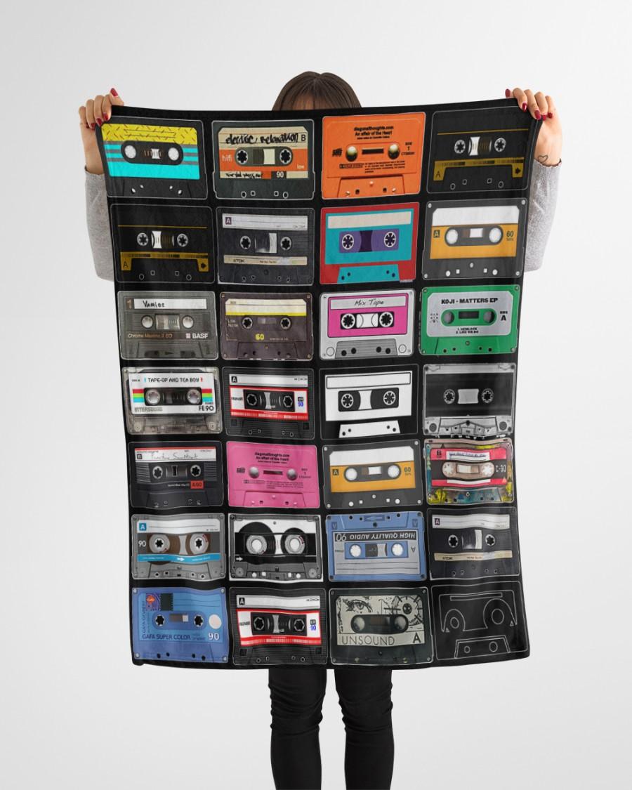 Cassette tapes blanket 3