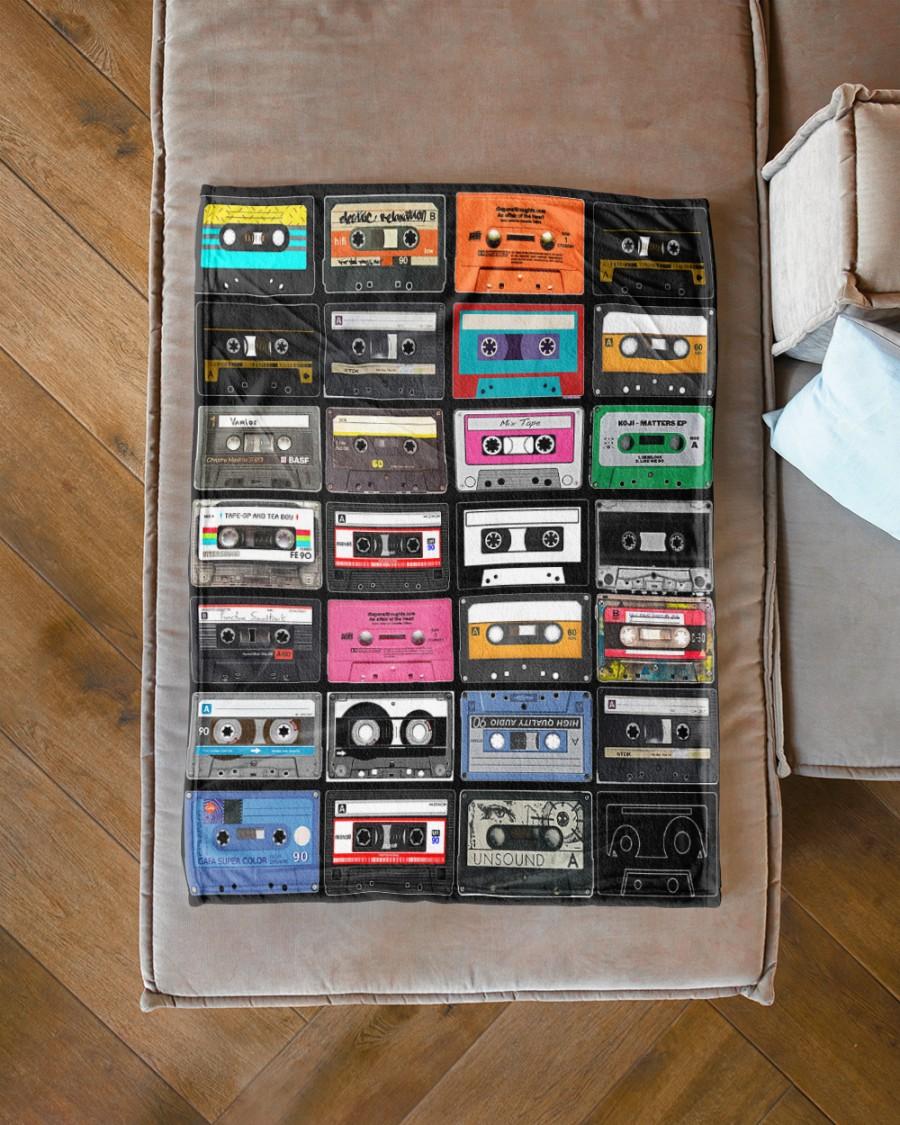 Cassette tapes blanket