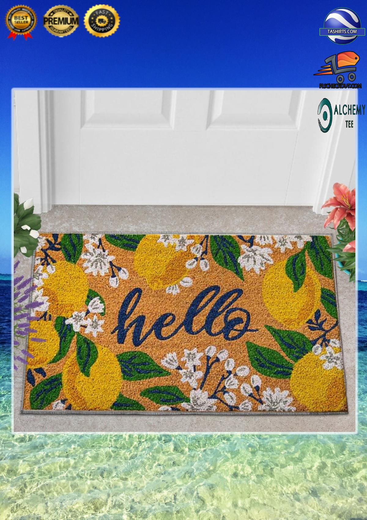 Hello lemons doormat 1