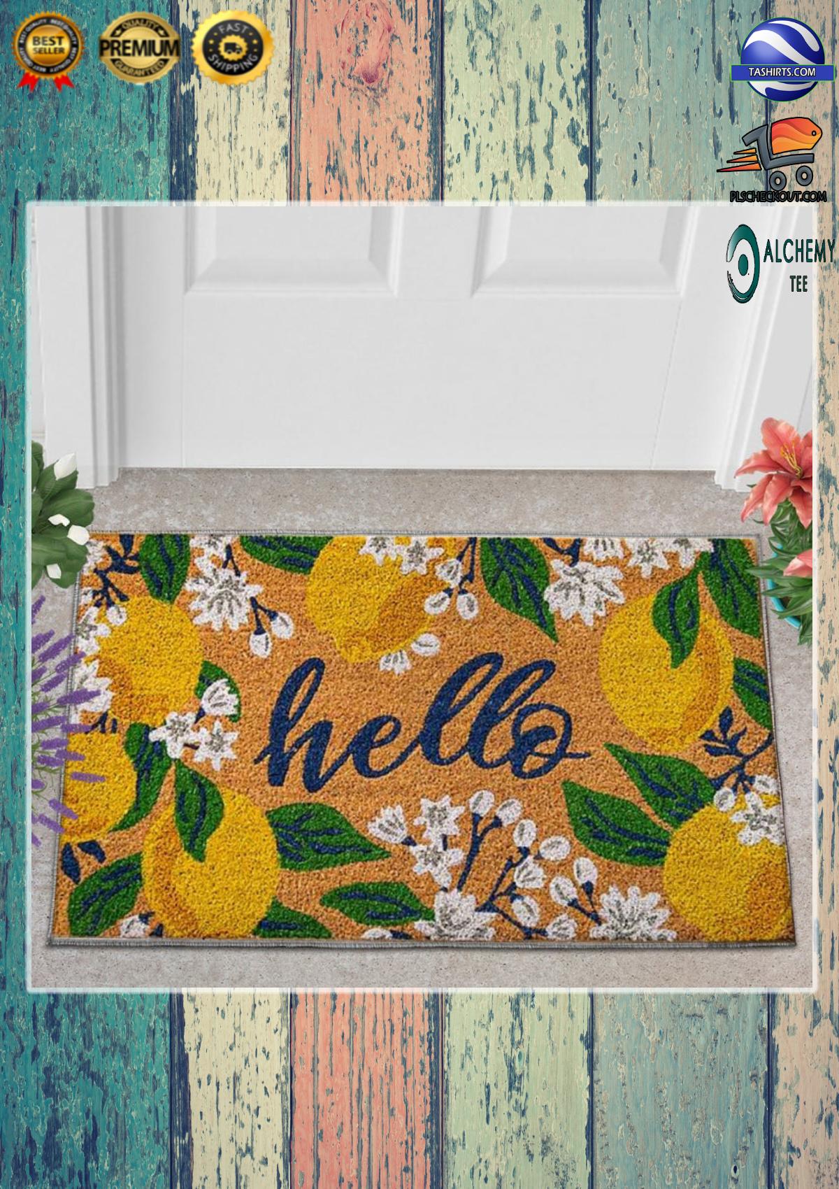 Hello lemons doormat 2