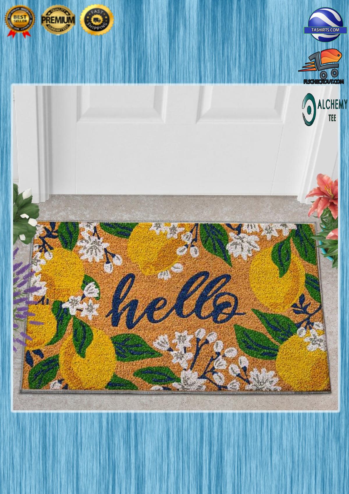 Hello lemons doormat 3