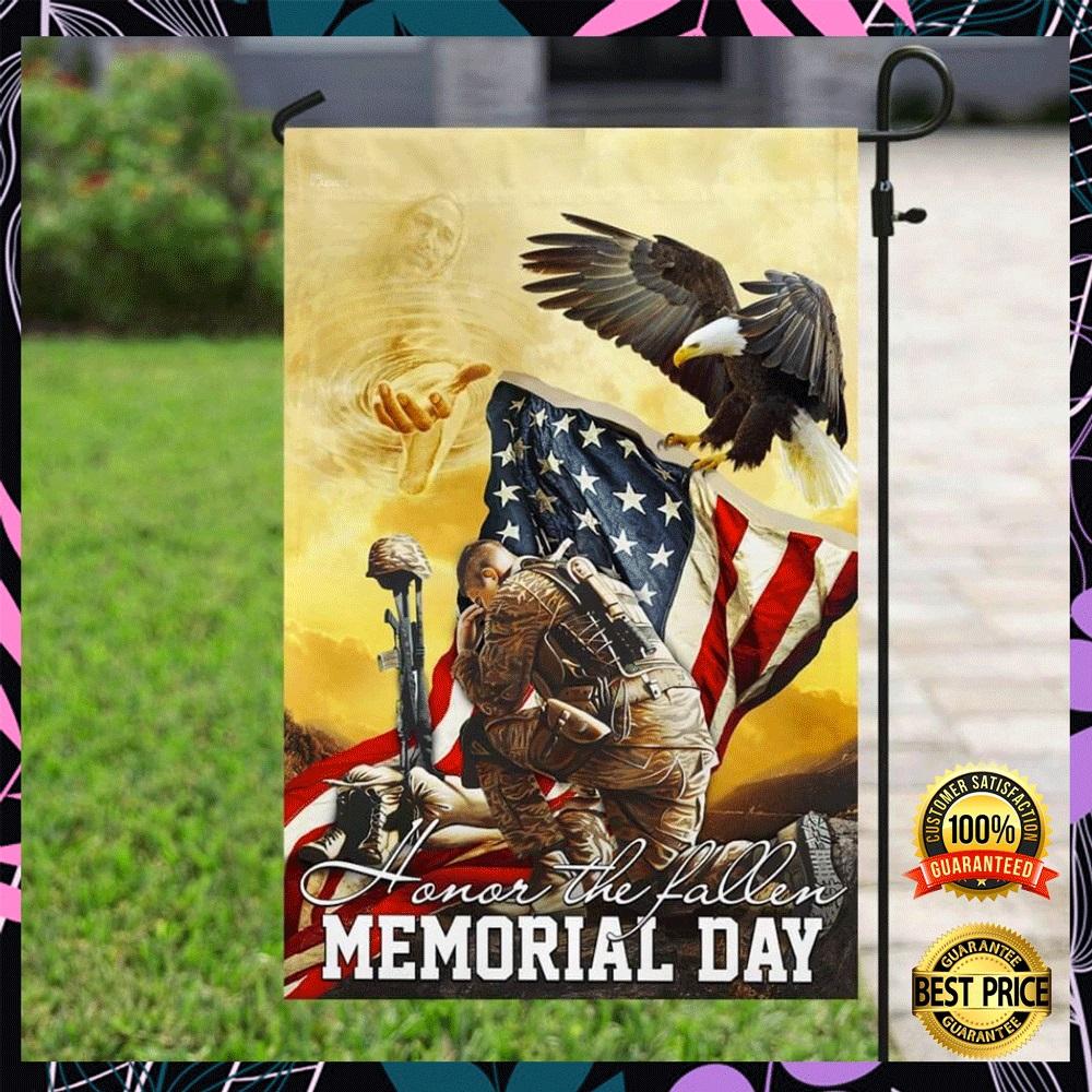 Honor the fallen memorial day flag2