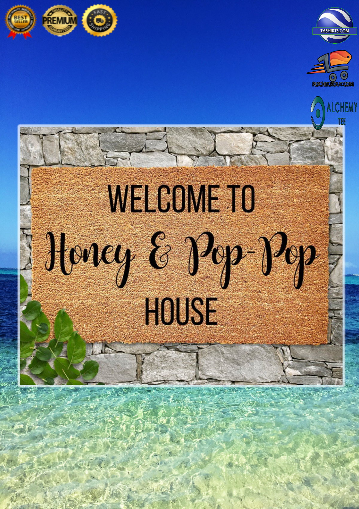 Personalized Customized Welcome to house doormat 2