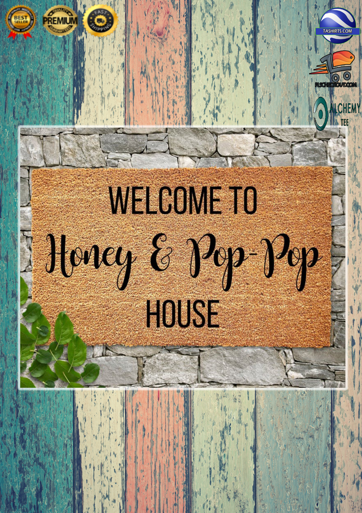 Personalized Customized Welcome to house doormat 3