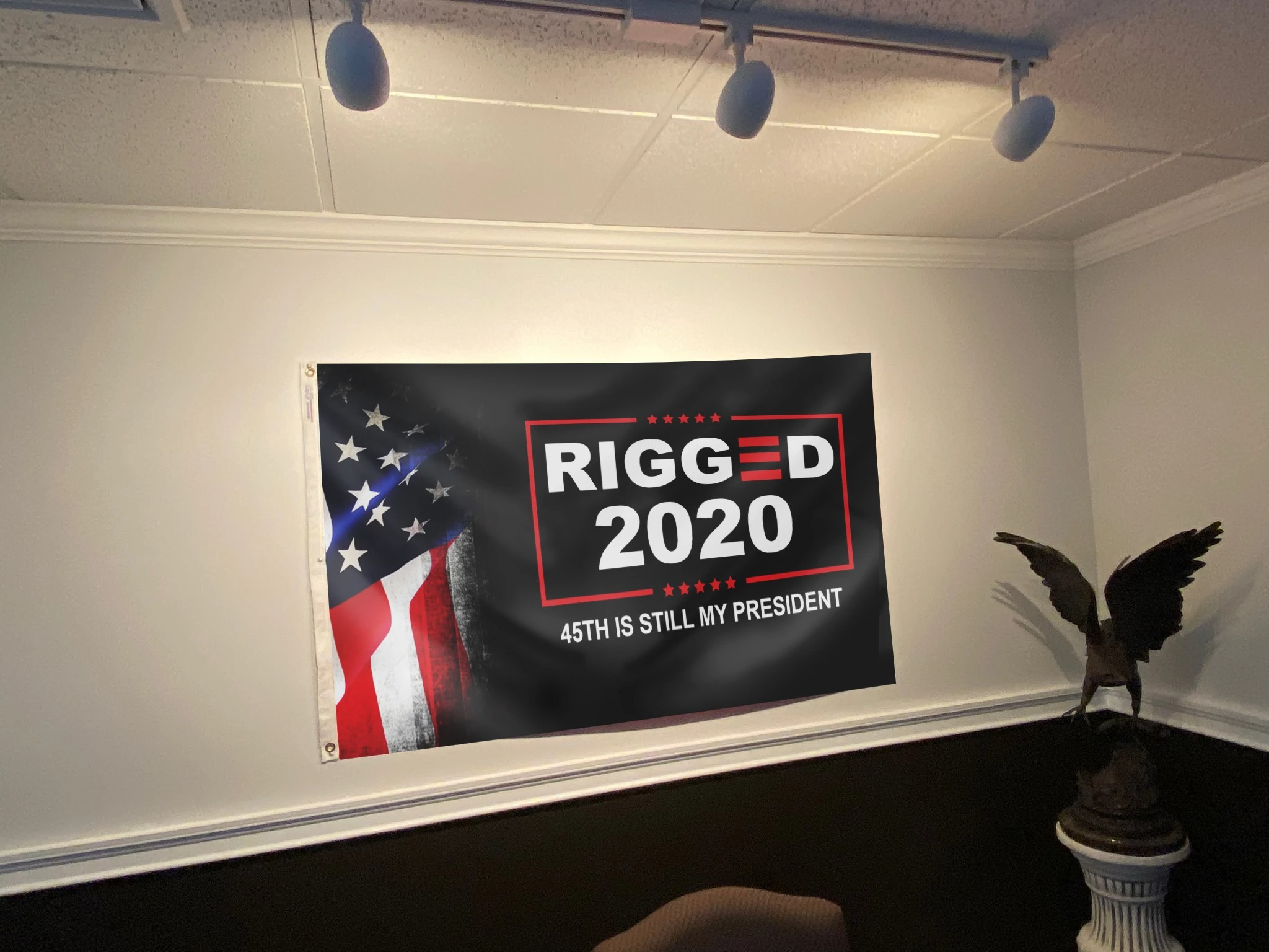 Rigged 2020 45th is still my president flag Picture 2