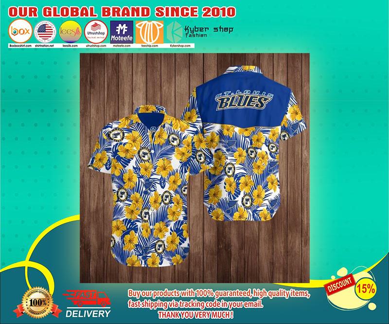 ST louis blues hawaiian shirt 1