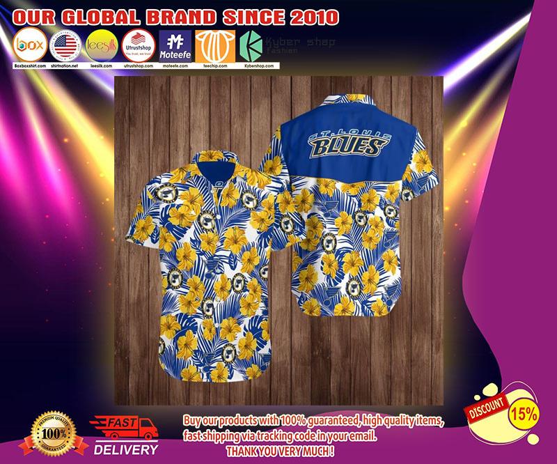 ST louis blues hawaiian shirt 3