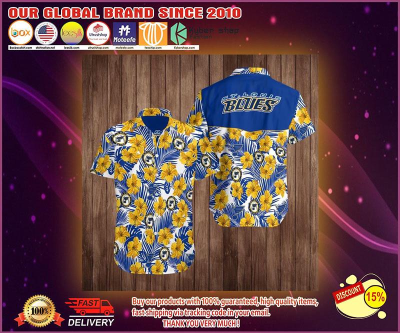 ST louis blues hawaiian shirt 4
