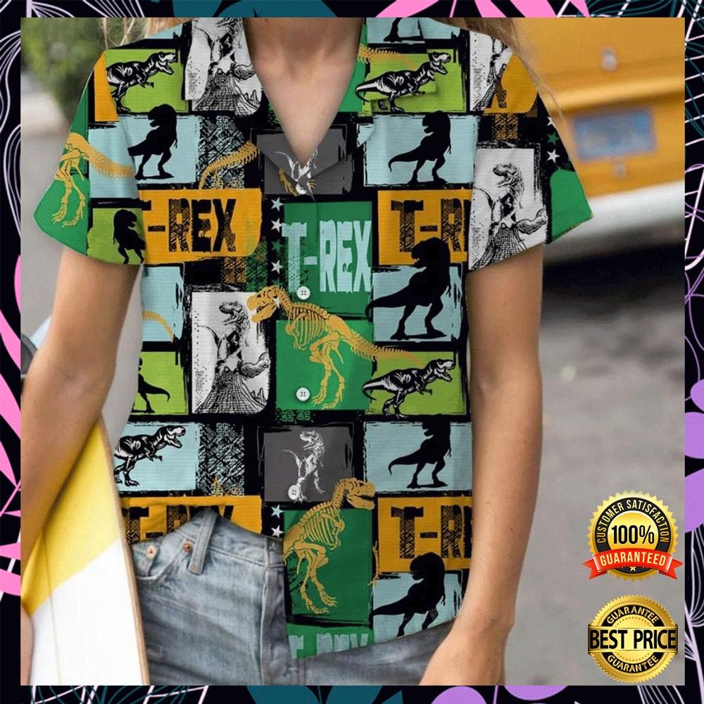 T rex hawaiian shirt2