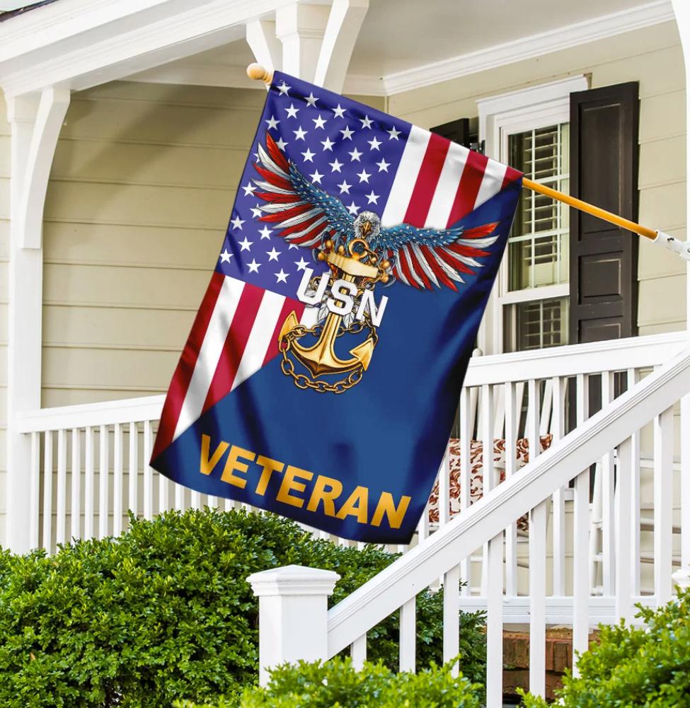 USN veteran flag 1