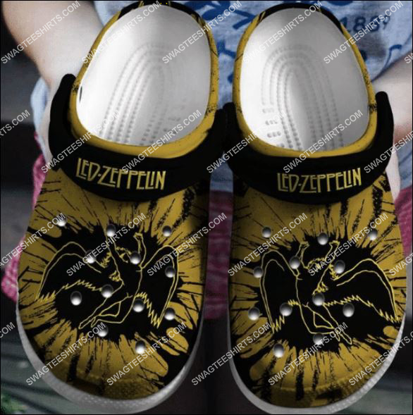 the led zeppelin band all over printed crocs 1 Copy1