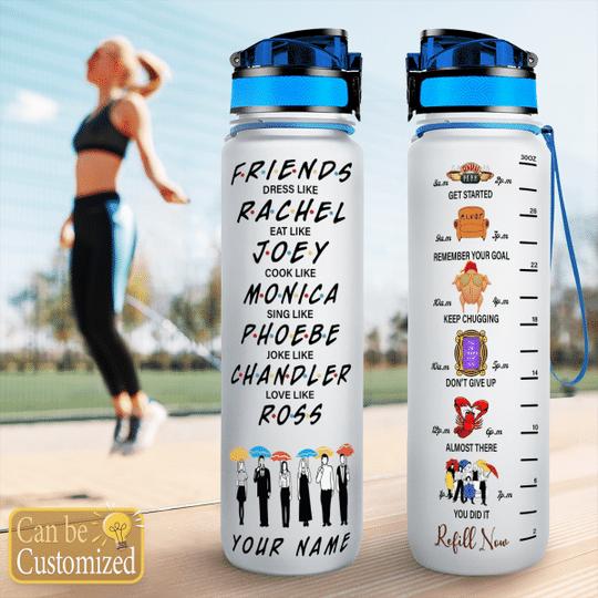 10 Friends TV show water Tracker Bottle 1