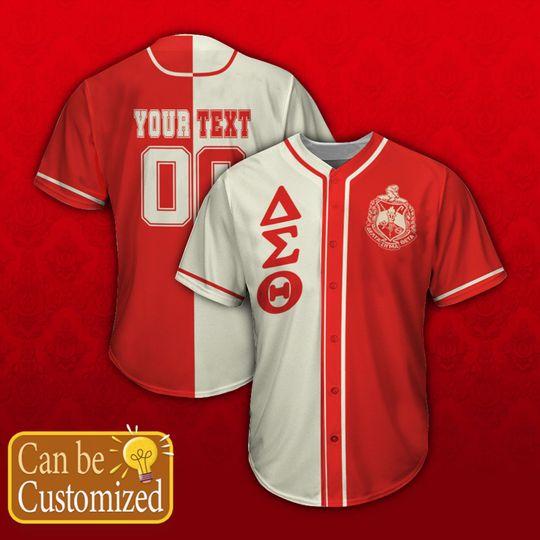 13 Delta Sigma Theta Personalized Unisex Baseball Jersey shirt 1