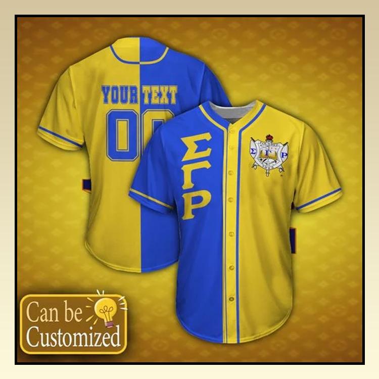 14 Sigma Gamma Rho Personalized custom name Baseball Jersey shirt 3