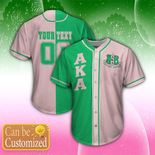 15 Alpha Kappa Alpha Personalized Unisex Baseball Jersey shirt 1