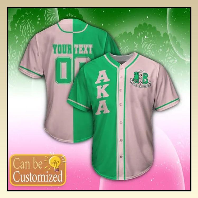 15 Alpha Kappa Alpha Personalized Unisex Baseball Jersey shirt 3