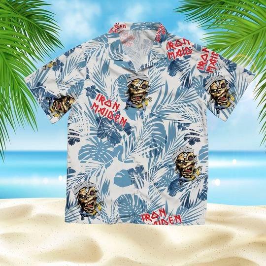 16 Iron maiden hawaiian shirt 1