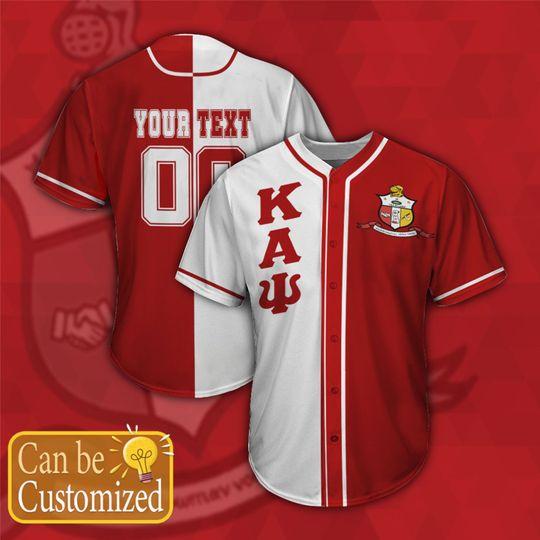 16 Kappa Alpha Psi Personalized Baseball Jersey shirt 1
