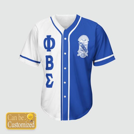 17 Phi Beta Sigma Personalized Baseball Jersey shirt 1