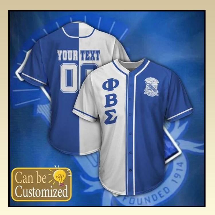 17 Phi Beta Sigma Personalized Baseball Jersey shirt 3