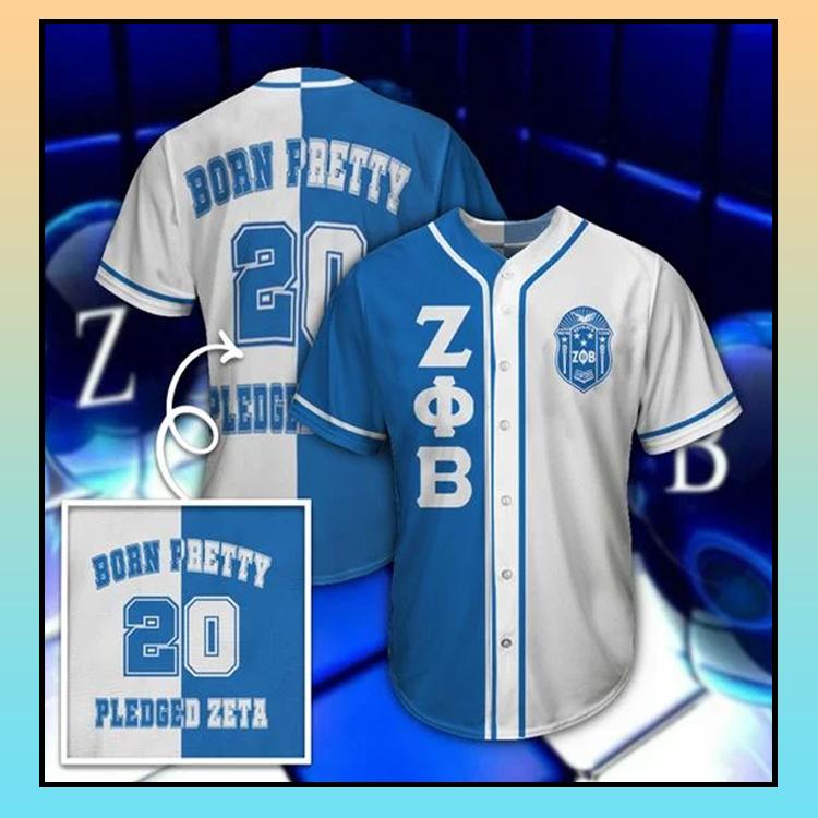 24 Zeta Phi Beta Unisex Baseball Jersey shirt 3