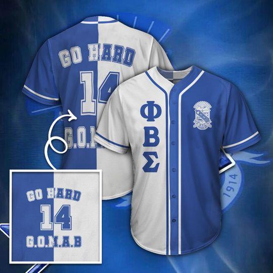 25 Phi Beta Sigma Unisex Baseball Jersey shirt 1