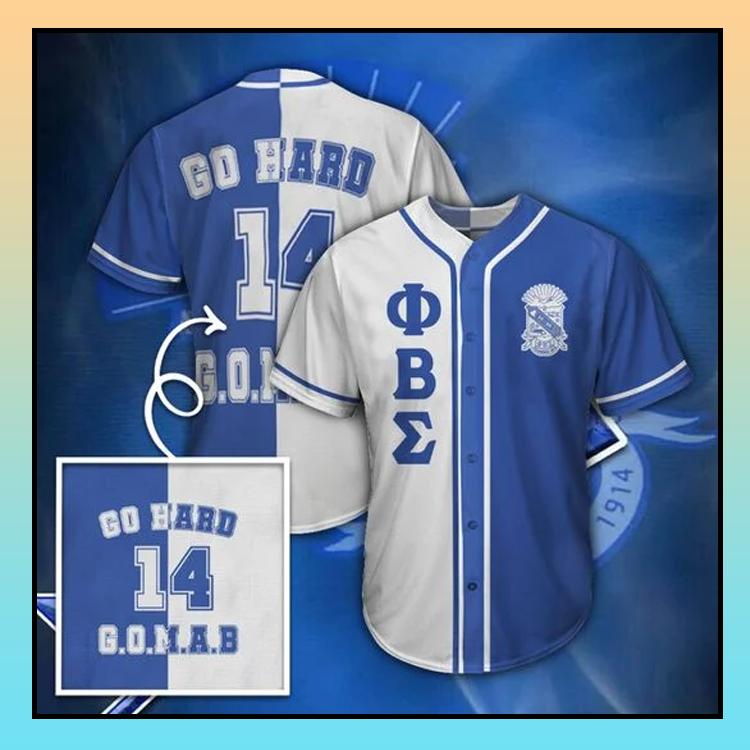 25 Phi Beta Sigma Unisex Baseball Jersey shirt 3