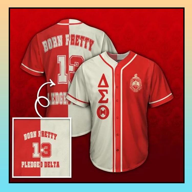 26 Delta Sigma Theta Unisex Baseball Jersey shirt 3
