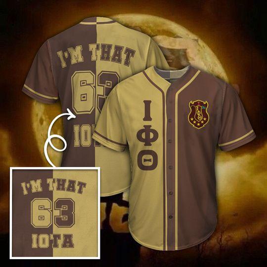 28 Iota Phi Theta Baseball Jersey shirt 1