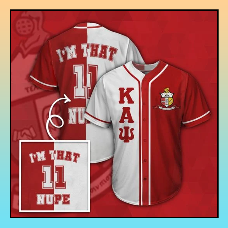 30 Kappa Alpha Psi Baseball Jersey shirt 3
