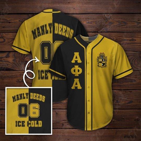 31 Alpha Phi Alpha Baseball Jersey shirt 1