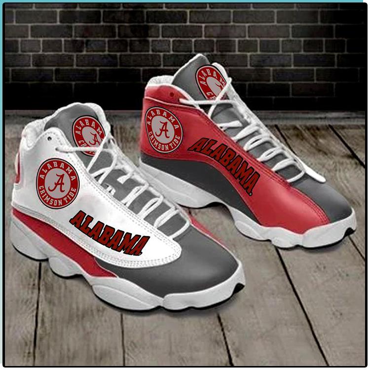 Alabama Crimson Tide Team Air Jordan 13 Sneaker1