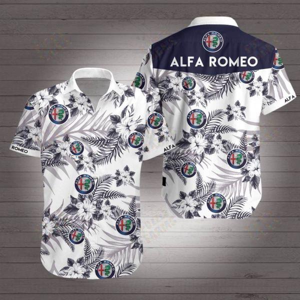 Alfa Romeo Racing F1 Hawaiian Shirt
