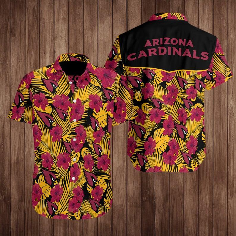 Arizona Cardinals Hawaiian Shirt For NFL Fans