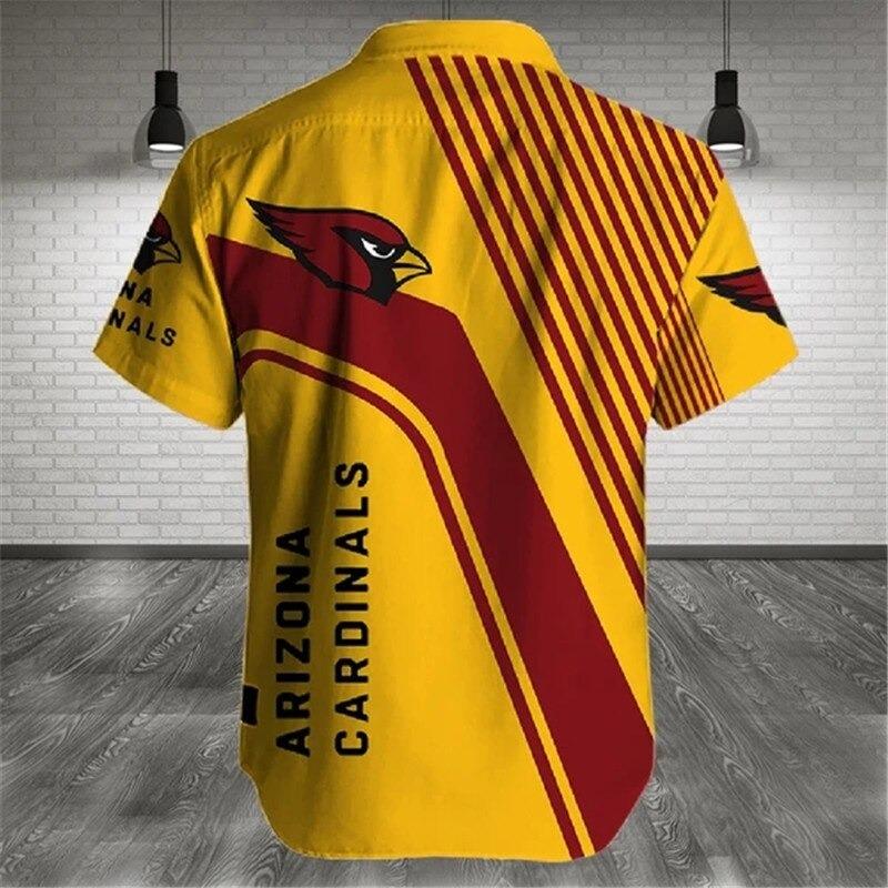 Arizona Cardinals NFL Cross Hawaiian Shirt 1